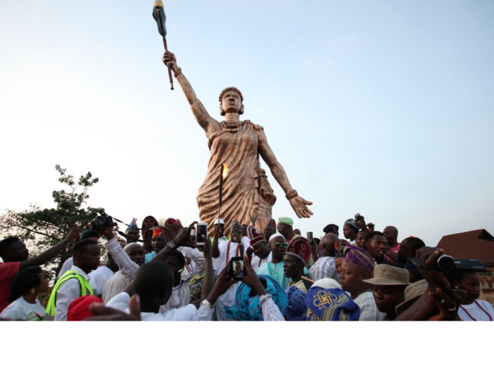 "Behold  The Unveiling – ""Moremi Ajasoro"" Statue"